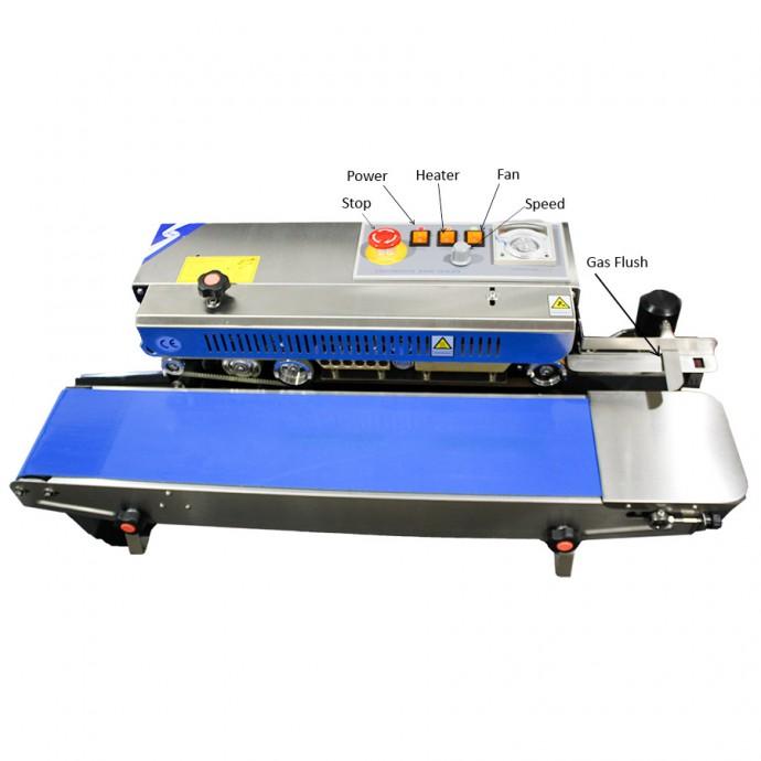 Gas-Flush Rapid Sealer™ RSH1525SSGF - Continuous Band Sealer