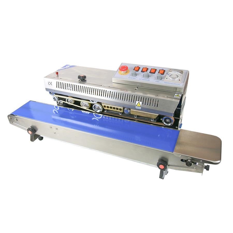 horizontal stainless steel band sealer