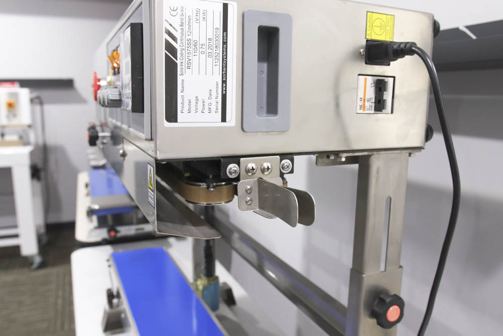 vertical stainless steel band sealer