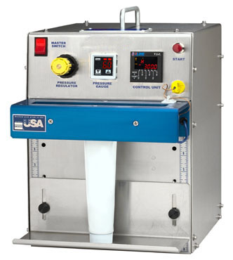 tube sealing machine with temperature control