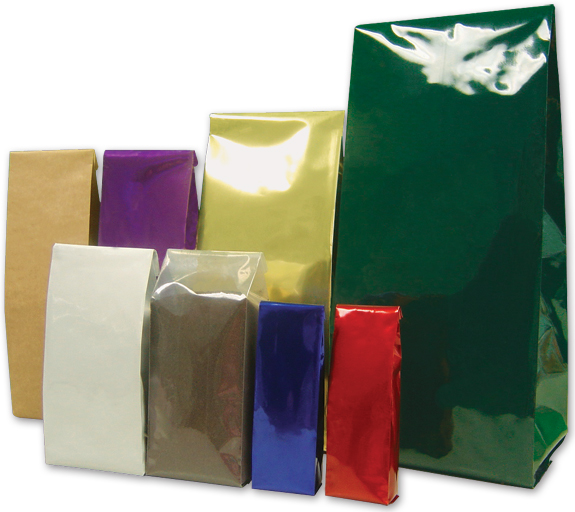 Colored Coffee Bags