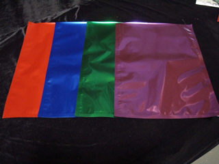 1 gallon colored mylar bags