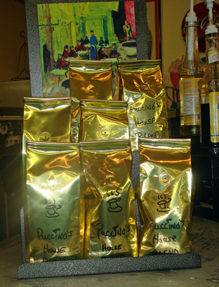 Gold Write On Coffee Bags