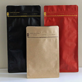 Square Bottom Standup Pouches