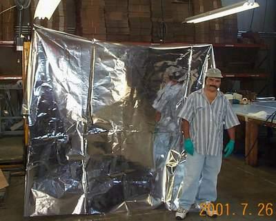 Large Mylar Crating Bag